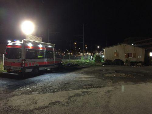 Der Tatort in Sargans, an dem sich die Bluttat ereignete.  Foto: kapo