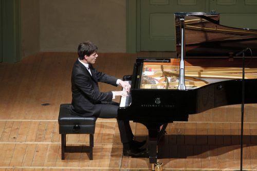 Der Vorarlberger Pianist Aaron Pilsan ist längst international begehrt. Foto: Schubertiade