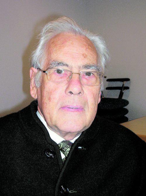 Diakon Werner Scheffknecht, Lustenau