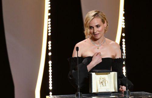Diane Kruger wurde als beste Schauspielerin geehrt. Foto: AFP