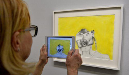 Die Albertina präsentiert eine guten Einblick ins Werk von Maria Lassnig. Foto: APA