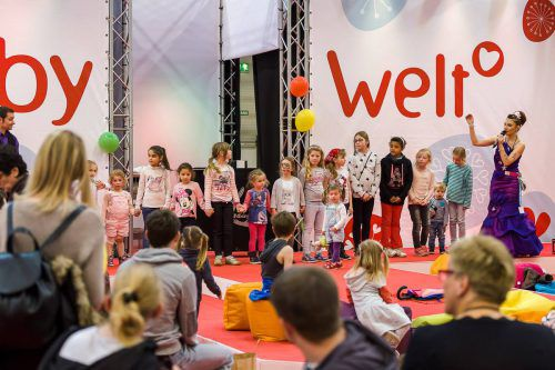 Die Babymesse am vergangenen Wochenende lockte Tausende Besucher in die Messehalle. Foto: Messe