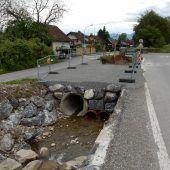 Dornbirn baut Brücke über den Küferbach neu