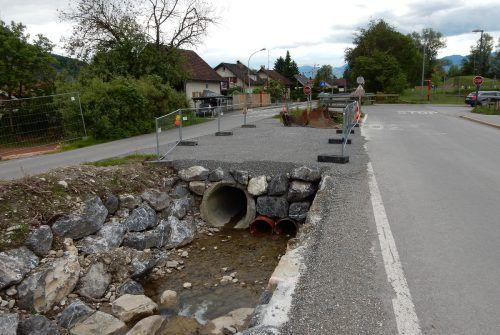 Die bisherige Brücke ist in die Jahre gekommen, nun hilft nur noch ein Neubau. Foto: Stadt