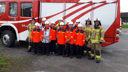 Die Feuerwehrjugend Lauterach absolvierte 24-Stunden-Übung.