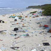 Insel wird zum Sinnbild der Ozean-Vermüllung