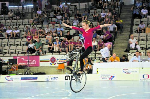 Die Höchsterin Lorena Schneider holte in Prag die erste EM-Goldene für Vorarlberg im Einer der Juniorinnen.  Fotos: schnetzer