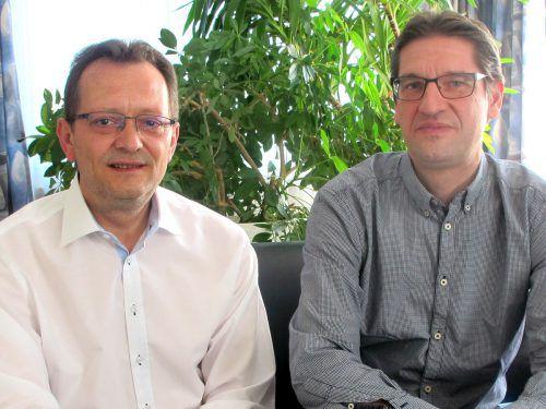 Die Leiter Wilfried Marte und Markus Ellensohn.  Foto: Jurmann
