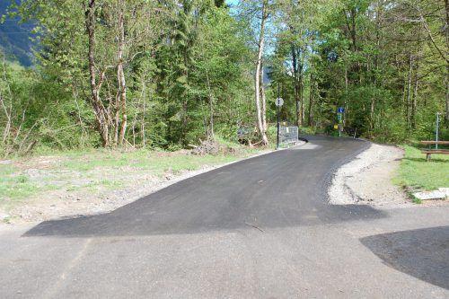 Die Lücke im Radwegenetz Montafon in Tschagguns steht kurz vor der Schließung. Foto: str