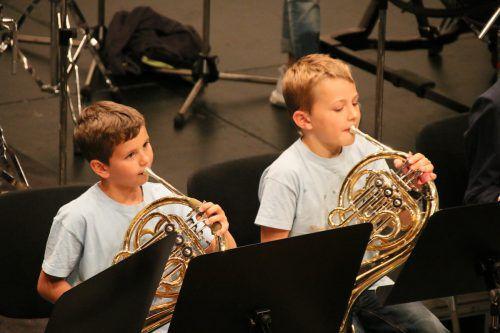 Die Mini- und Young-Harmonists aus Altach zählen zu den jüngsten Teilnehmern und erreichten eine hervorragende Punktezahl.