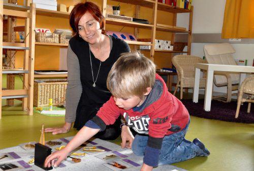 Die Nenzingerin Tamara Jehle ist die Gründerin des ersten privaten Montessori-Kindergartens. Foto:cm