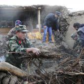 Tote und Zerstörung nach Erdbeben in China
