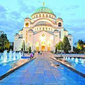 Die Kirche des heiligen Sava