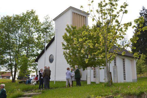Die Schutzengelkapelle in Oberbildstein. Foto: VV