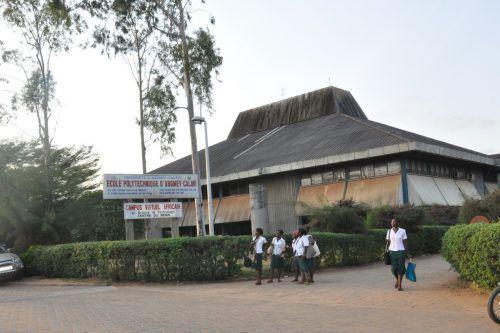 Die Studenten der École Polytechnique d'Abomey-Calavi müssen ständig mit Stromausfällen rechnen. Foto: FH