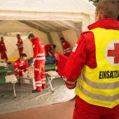 Rettungskräfte proben im Bregenzerwald