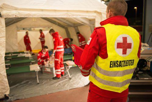 Die Übung wird vom Rettungskommando Vorarlberg organisiert.