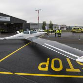 Neues Solarflugzeug schließt Testflug ab