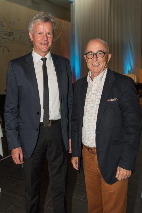 Direktor Gerald Fleisch, LKH (l.) und Dr. Walter Wintersteiger.
