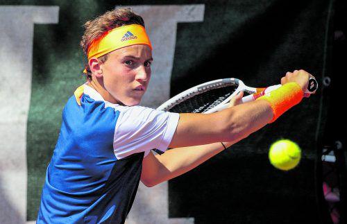 Dominic Thiem steht heute zum dritten Mal in drei Wochen Rafael Nadal gegenüber.  Foto: gepa