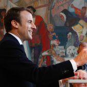 Frankreichs neuer Präsident heißt Emmanuel Macron