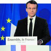 Macron ist Frankreichs neuer Staatspräsident