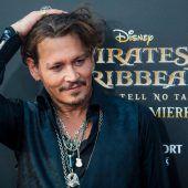 Johnny Depp bereitet sich auf neue Rolle vor
