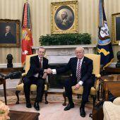 Trump sichert im Kampf gegen Terror Rückhalt zu