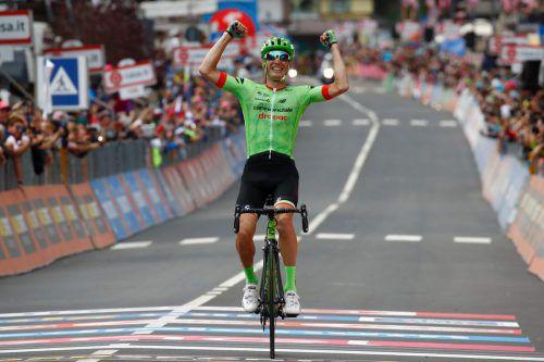 Erstmals Sieger auf einer Giro-Etappe: Pierre Rolland.  Foto: ap