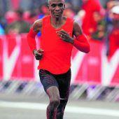 Eliud Kipchoge am Weltrekord gescheitert