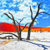 Das Sossusvlei im Herzen von Namibia