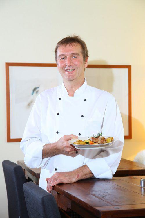 Jurymitglied Artur Rüscher freut sich auf leckere Rezepte. VN/HB
