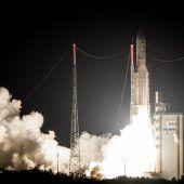 Wieder Ariane-Rakete ins All gestartet