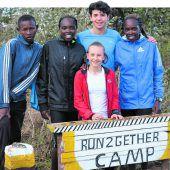 Junge Wälderin auf Trainingslager in Kenia