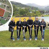 Spatenstich für neues Wohnquartier in Röthis
