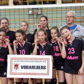 Höchster U-12-Volleyballerinnen sichern sich die nationale Krone