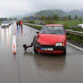 Wolfurter bei Oberriet in Unfall verwickelt