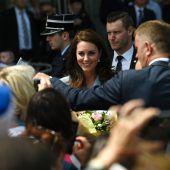Luxemburg feiert Herzogin Kate