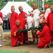 Feierliche Zeremonie