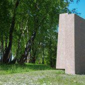 Honegger-Skulptur am Rheindamm enthüllt