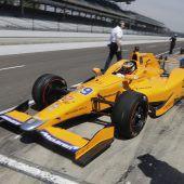 Alonso nutzte den ersten Indy-Testtag
