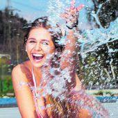 Frühsommerliche Temperaturen locken ins Freibad