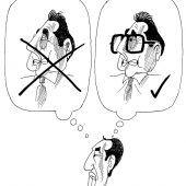 Nicht der letzte Wille – H.C. mit Brille!