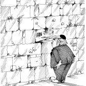 Donald an der Klagemauer!