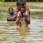Schon über 150 Tote nach Regenkatastrophe