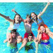 Der Sommer lockt Tausende Vorarlberger ins Freibad