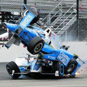 Horrorunfall von Scott Dixon beim Indy 500