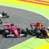 Räikkönen lud jungen Fan ins Motorhome ein