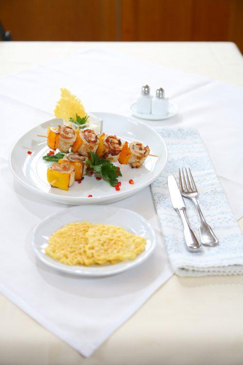 Für Saltimbocca wird in Italien traditionell zartes Kalbsfleisch verwendet. FotoS: bernd Hofmeister
