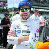 Alonso ist nirgendwo lieber als in Indianapolis